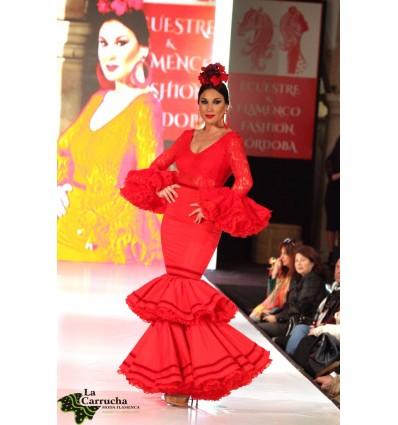 Traje Flamenca Mujer 005