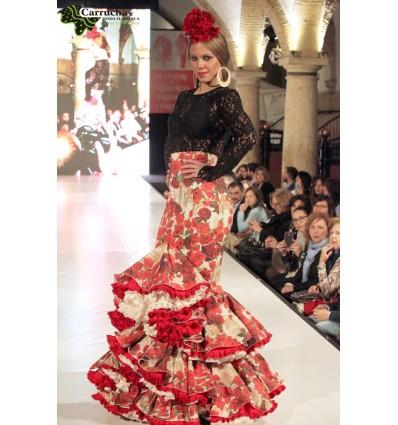 Traje Flamenca Mujer 015